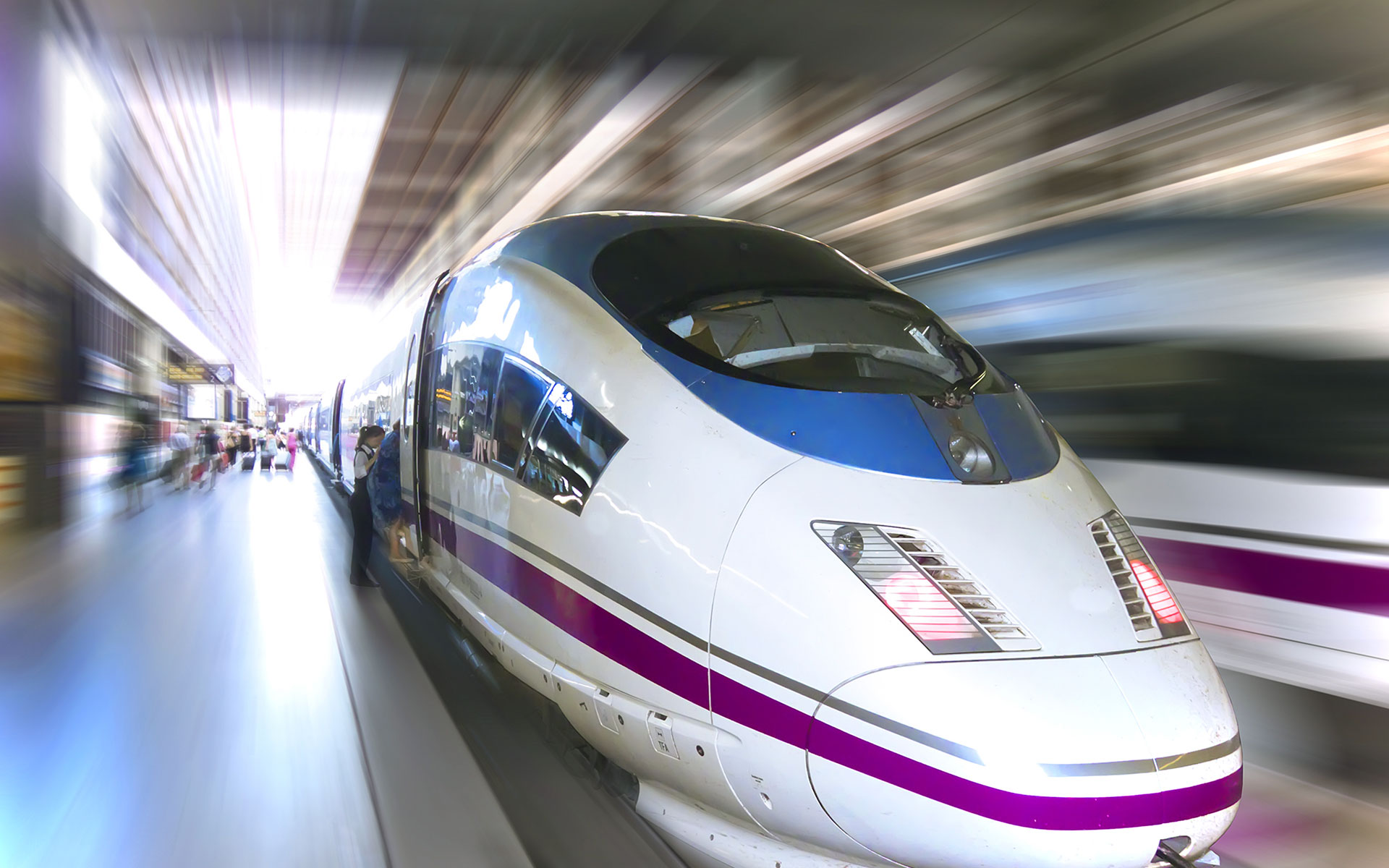 2014 sees the introduction of a new direct high-speed rail service betweeen Madrid and Marseille operated by RENFE