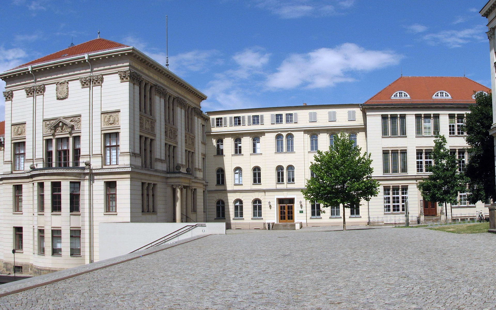 The Martin Luther University in the east German town of Halle (photo © Singhsomendra).