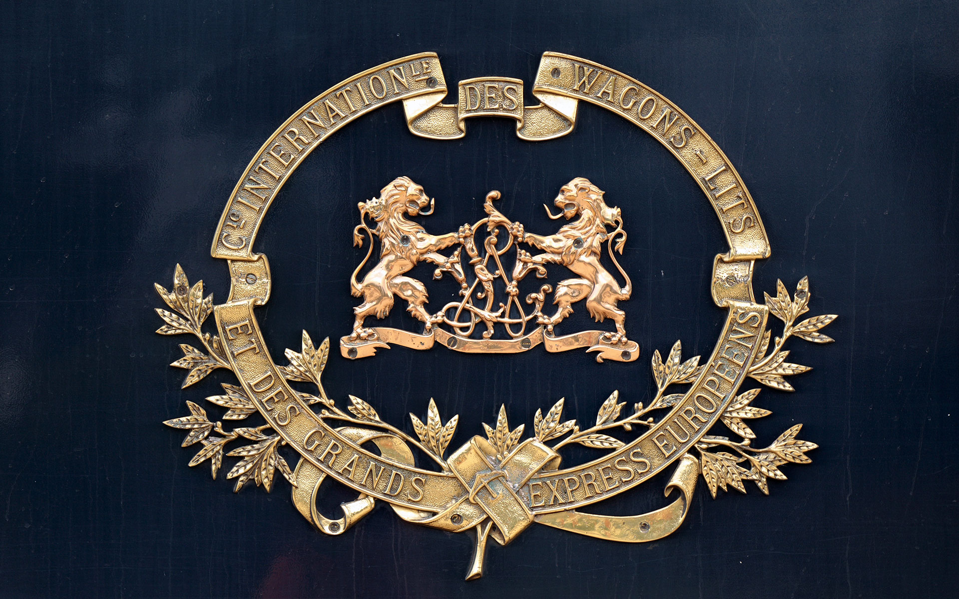 Crest of the Wagons-Lits company that used to run the Orient Express (photo © Presiyan Panayotov).