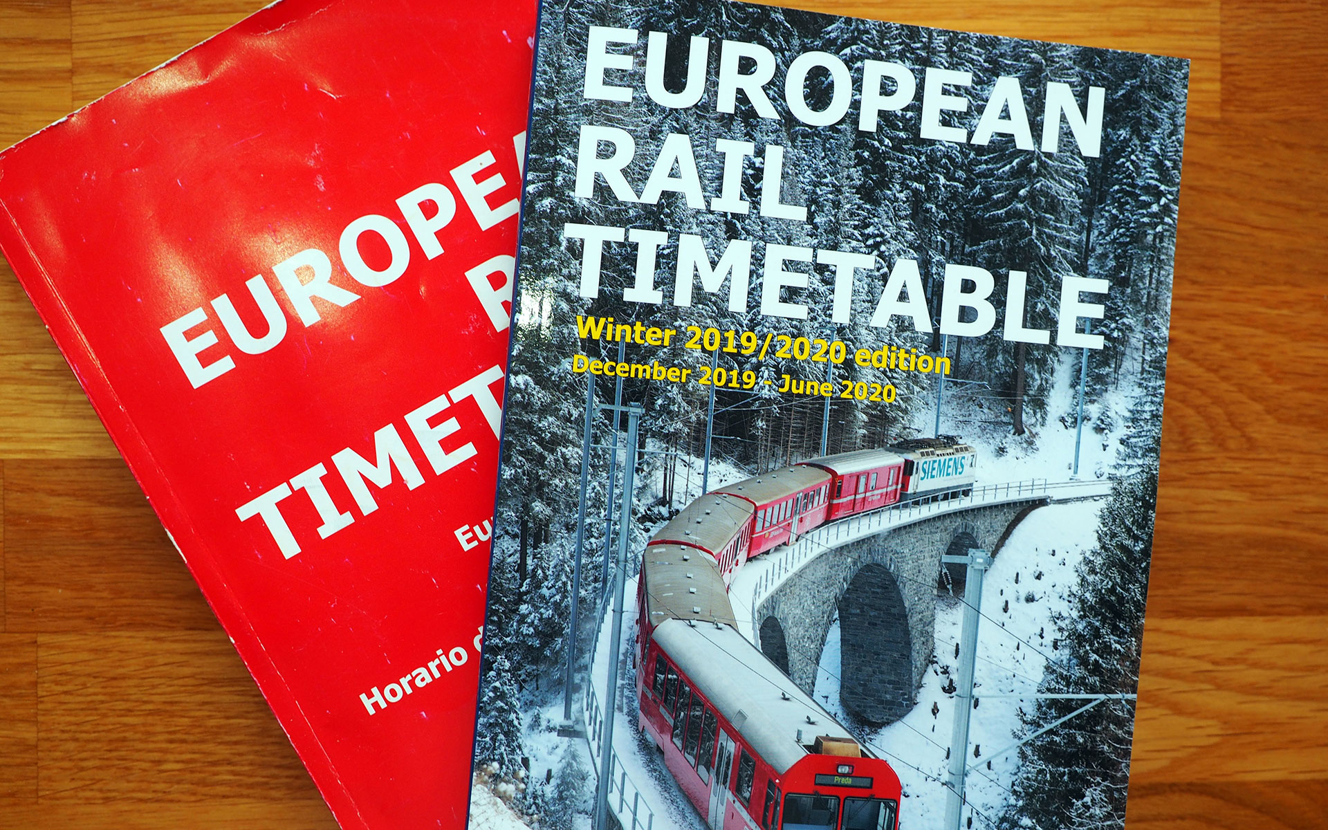The winter 2019/2020 edition of the European Rail Timetable includes a number of tributes to Brendan Fox's long tenure as Editor of the publication.