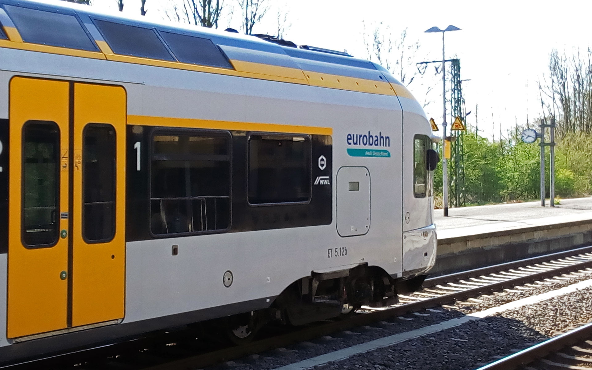 Regional train operator Eurobahn, part of the Keolis group, offers hourly services across the German-Dutch border to Venlo (photo © hidden europe).