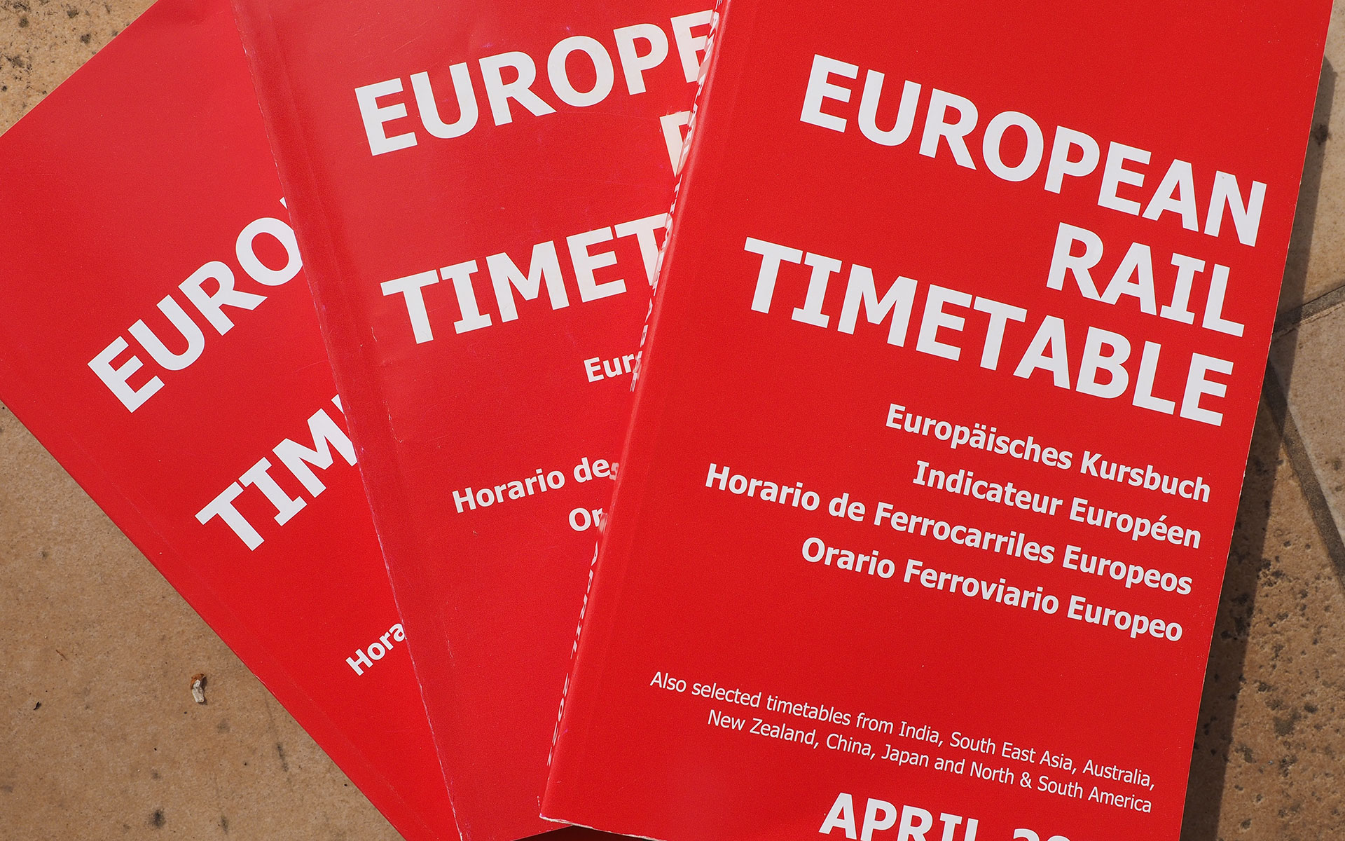 Each edition of the European Rail Timetable contains a Newslines section that captures the changes in European rail services (photo © hidden europe).